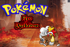 fire darkness titlescreen by Zeno96