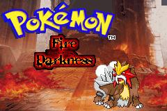 fire darkness titlescreen by Zeno96