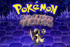 pokemon arsium titlescreen by Zeno96