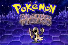 pokemon arsium titlescreen by Zeno96