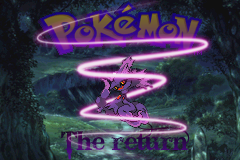 pokemon the return titlescreen by Zeno96