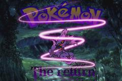 pokemon the return titlescreen by Zeno96