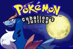 Pokemon Cobalion's Justice Titlescreen by Zeno96