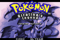 Pokemon Giratina's Legend Titlescreen by Zeno96