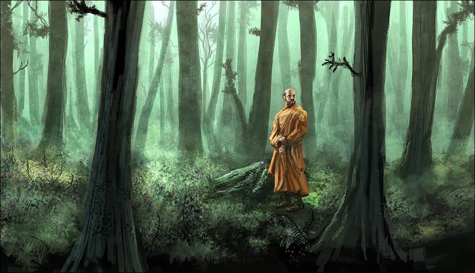 Monk by Pataplouf