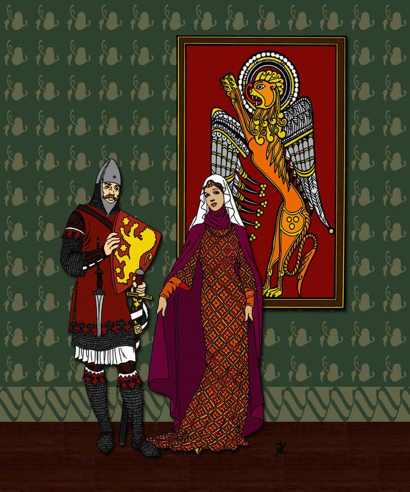Richard I of England 1157-1199 by PrinceznaLuna