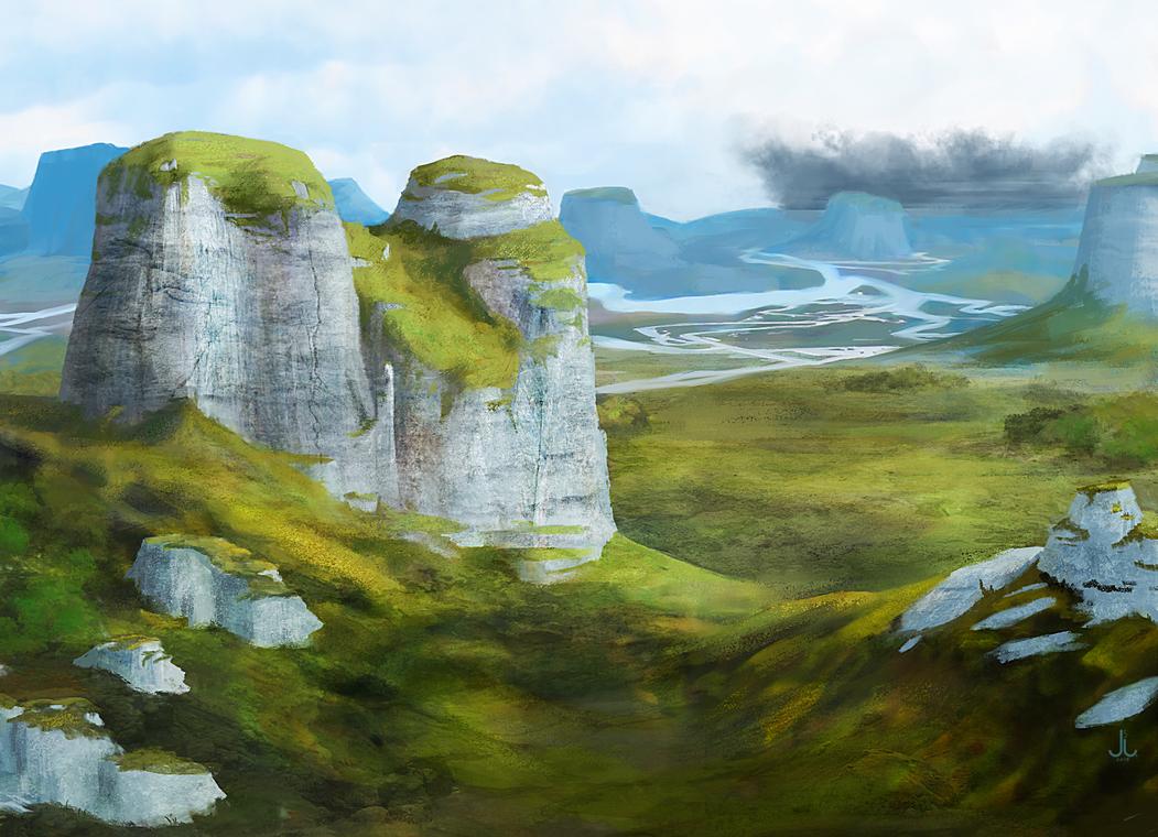 Rhoenoak - Valarim Plains by Enitsu331