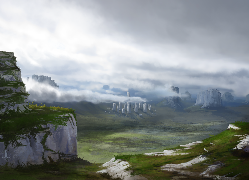 Rhoenoak - Valley of Stones by Enitsu331