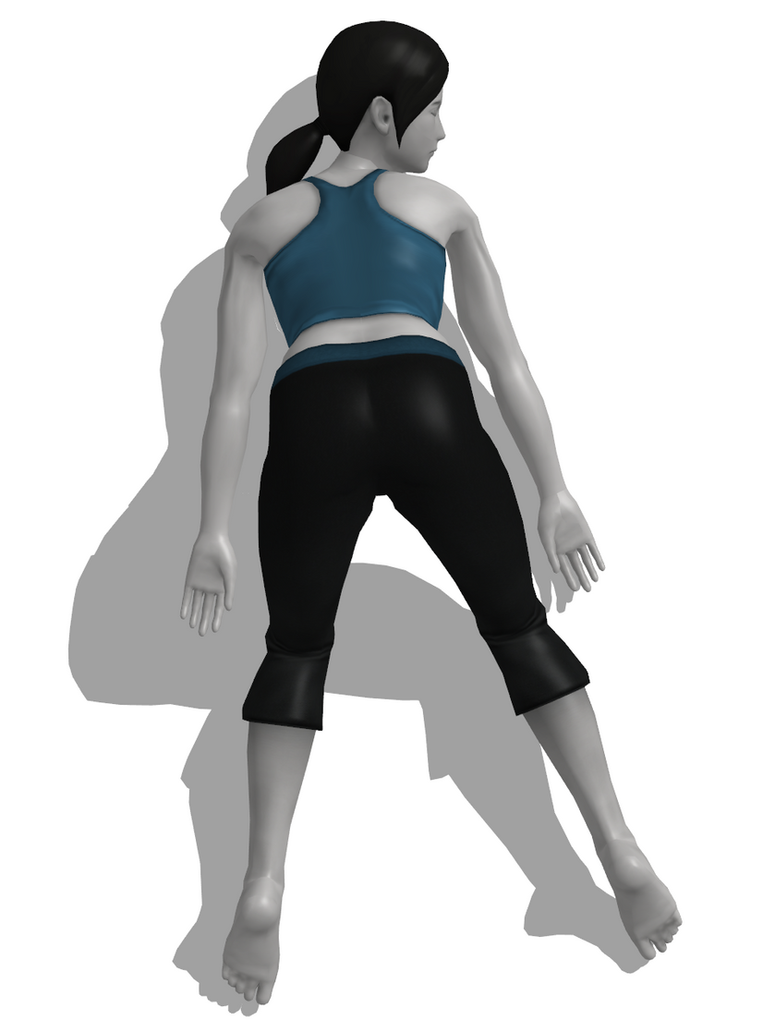 Wii Fit Trainer Knocked Out 3 By MinexLaggante1 On DeviantArt