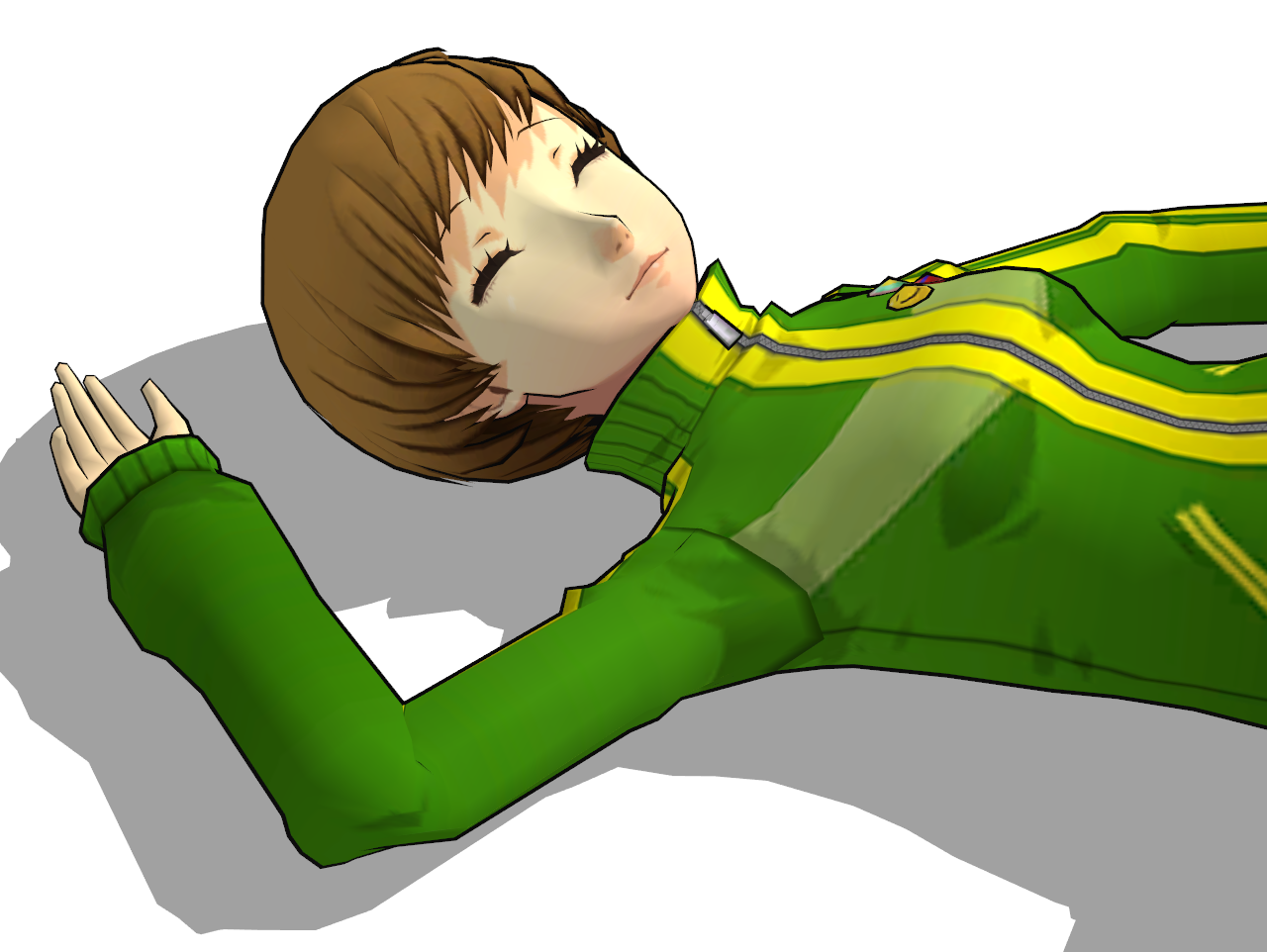 chie satonaka defeated 4 by minexlaggante1 on deviantart