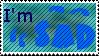 Sad Stamp by JFG107-Stamps