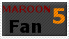 Maroon 5 Stamp by JFG107-Stamps
