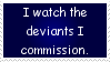 Watchers Stamp by JFG107-Stamps
