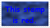 Red Stamp by JFG107-Stamps