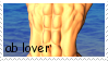 Ab Lover Stamp by JFG107-Stamps