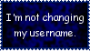 No Username Change Stamp by JFG107-Stamps