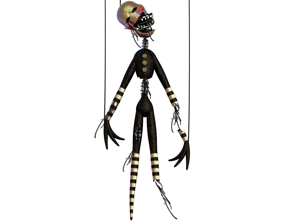 Withered marionette the puppet fanmade by crueldude100