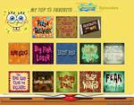 Top 13 Favorite SpongeBob SquarePants Episodes