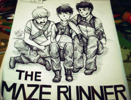 The Maze Runner by Hota98