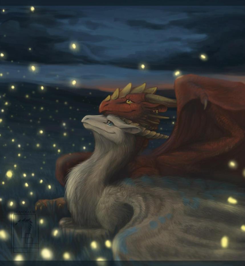 Dance Of The Fireflies by Deanosaior