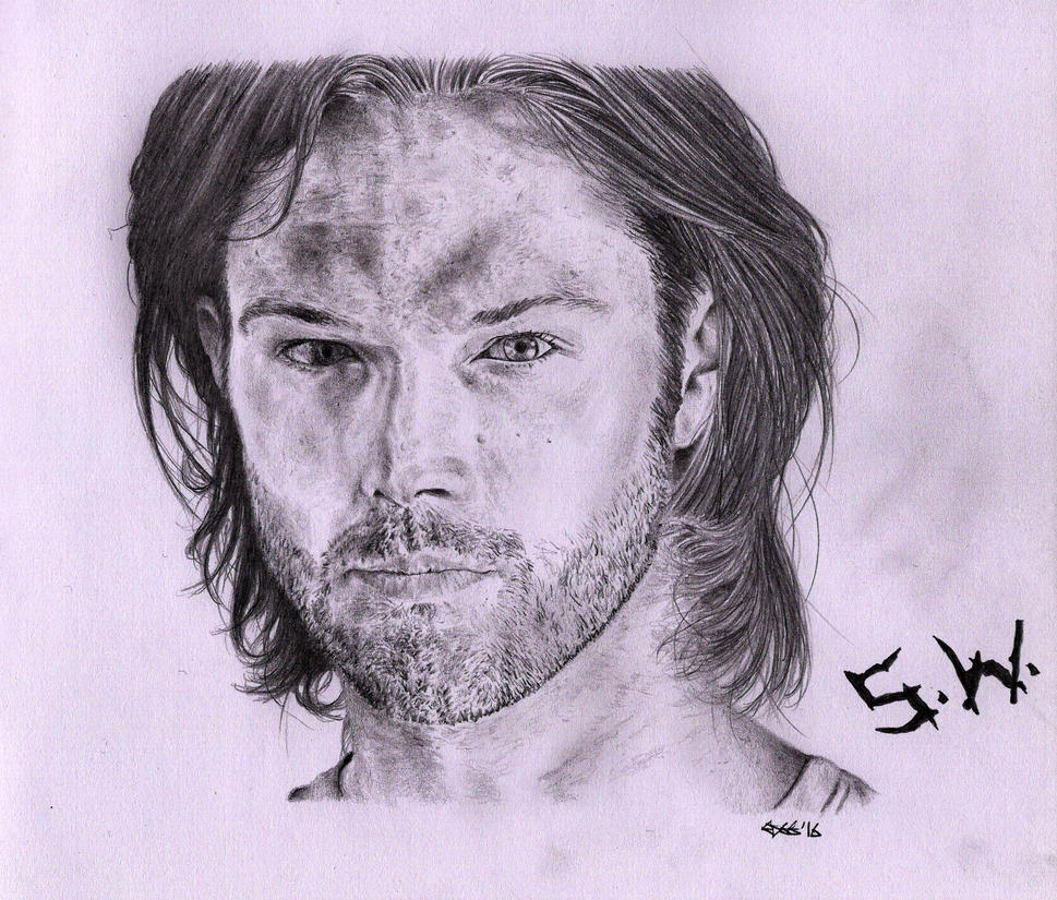 Sam Winchester (Jared Padalecki) by Cromoedge