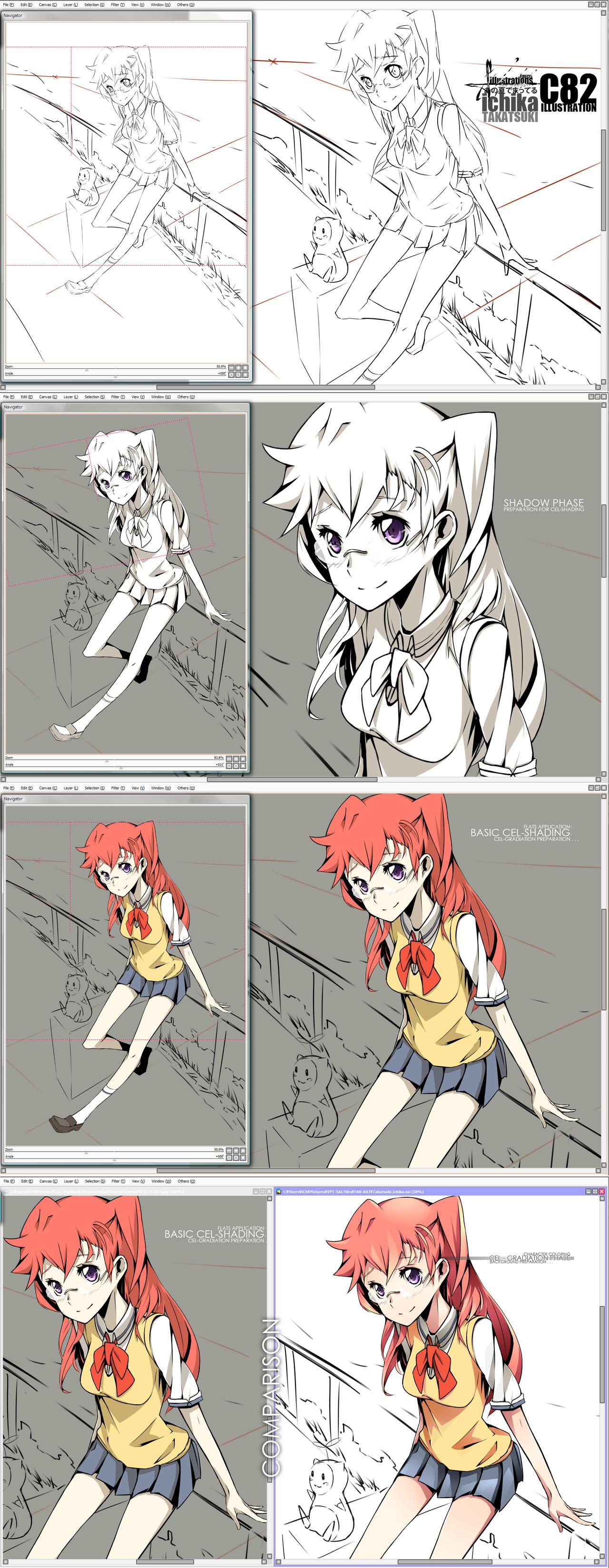 DS - Takatsuki Ichika - C82 Illustration by Firecel