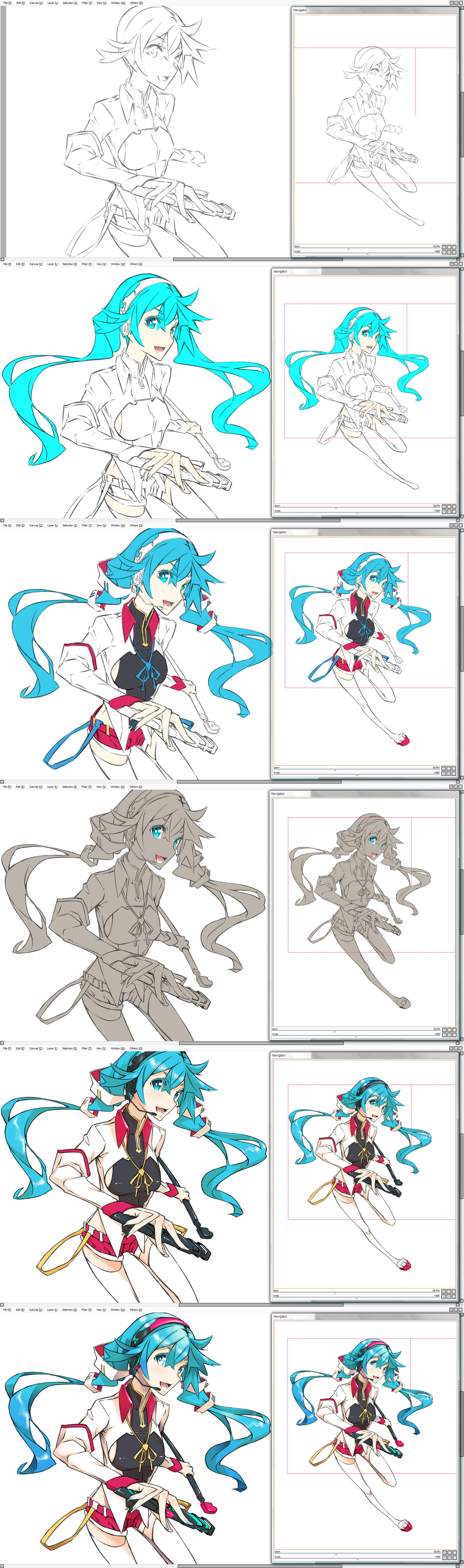 Miku Star 2014 // Draft by Firecel