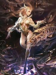 Time goddessA by zinnaDu