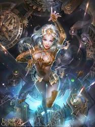 Time goddessB by zinnaDu