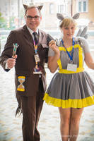 Doctor Whooves and Assistant by XenPhotos