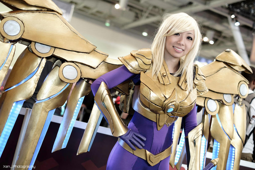 LoL: Aether Wing Kayle by XenPhotos on DeviantArt