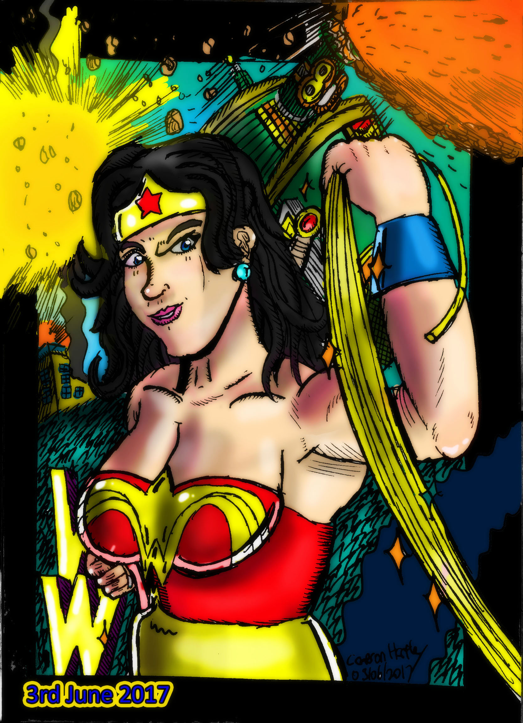Wonder Woman by Densetsu1000