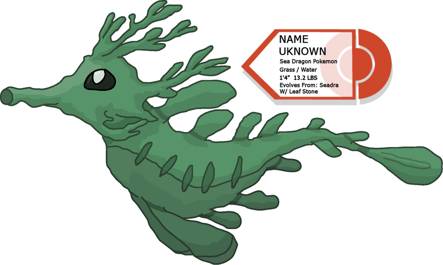 Leafy Sea Dragon Pokemon by Exiled-Shadow on DeviantArt