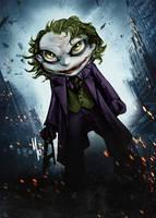 Joker Dark Knight by Corsariomarcio