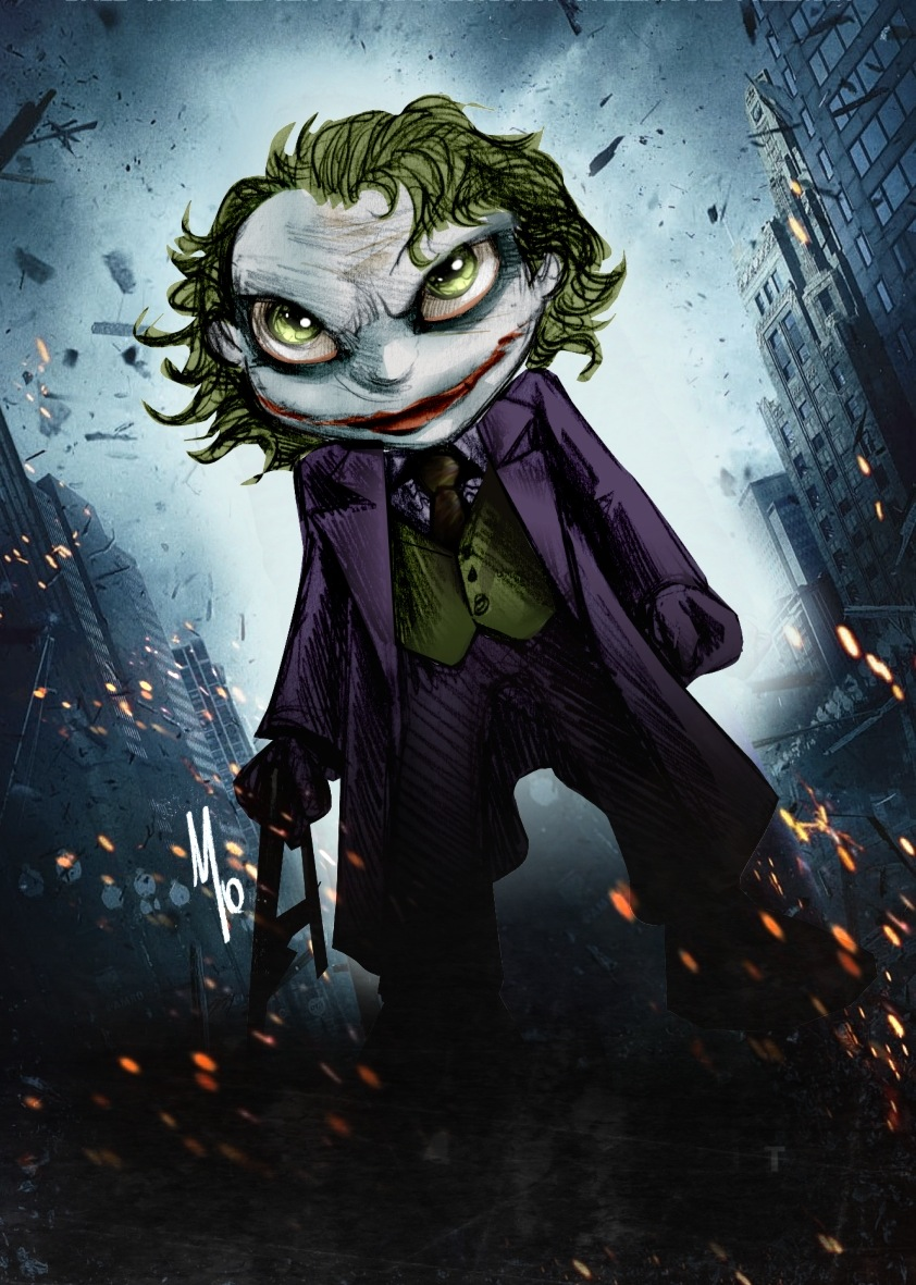 Batman Begins Joker Card Joker Dark Knight by