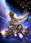 mini Guardians of the Galaxy