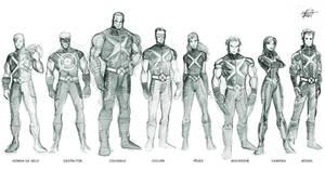 X-Men UP 2 by Corsariomarcio
