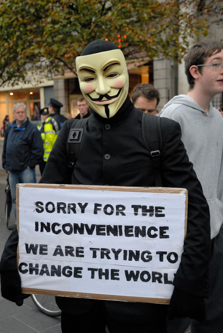 Occupy Dame Street 11 by M-M-X