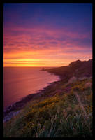 Howth Sunset by M-M-X