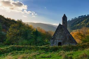 Glendalough church by M-M-X