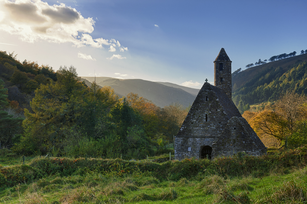 Glendalough church by M-M-X
