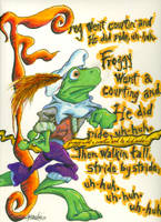 Froggy Went a Courtin' by slashdraw