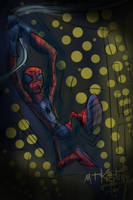Spidey Swings by slashdraw