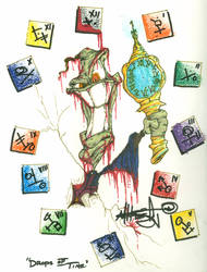 Drops of Time by slashdraw