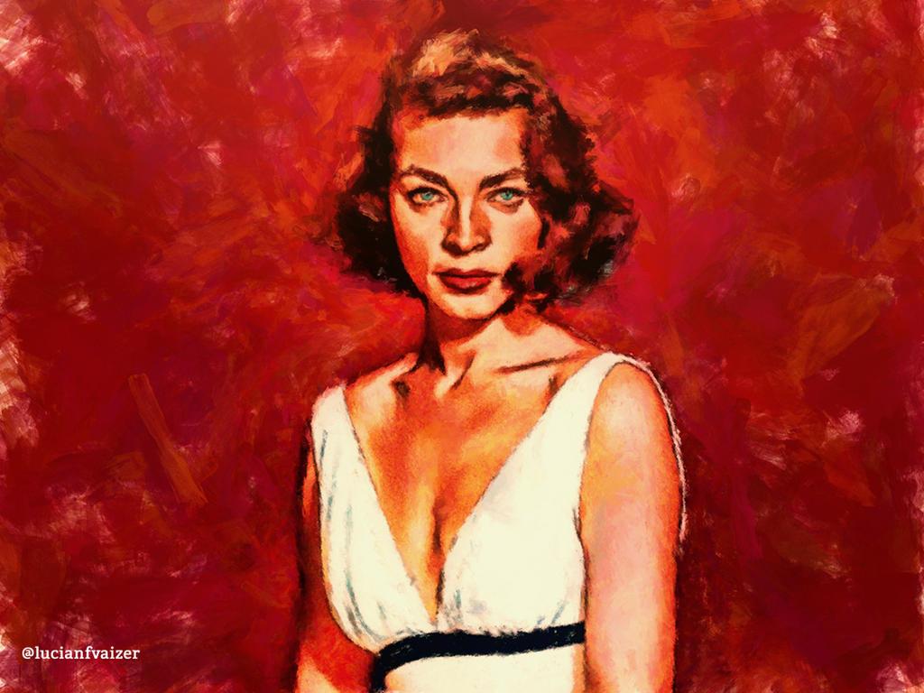 Lauren Bacall by LucianFVaizer