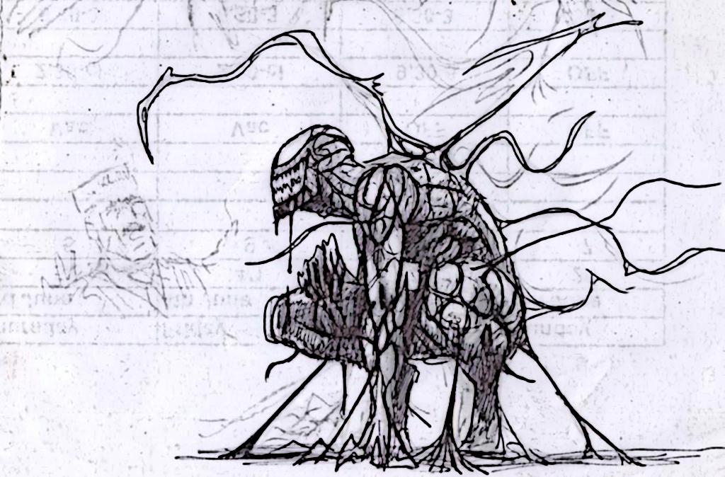 anti venom drawing
