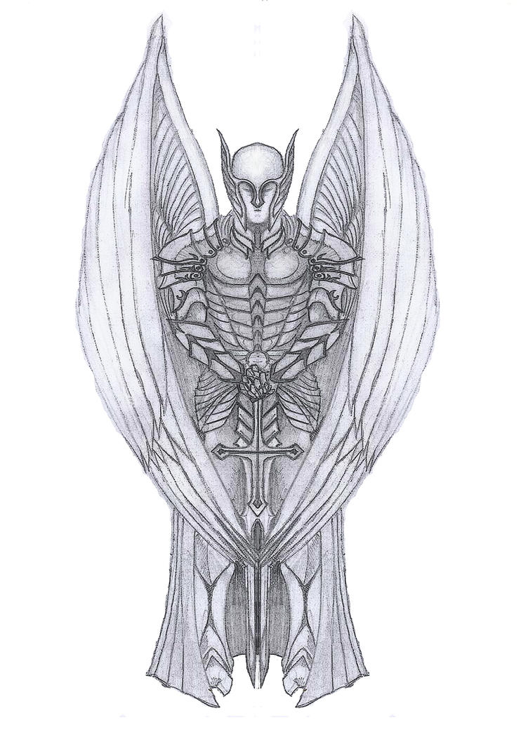 Archangel michael tattoo by dpwright on deviantart archangel michael tattoo by dpwright biocorpaavc Images