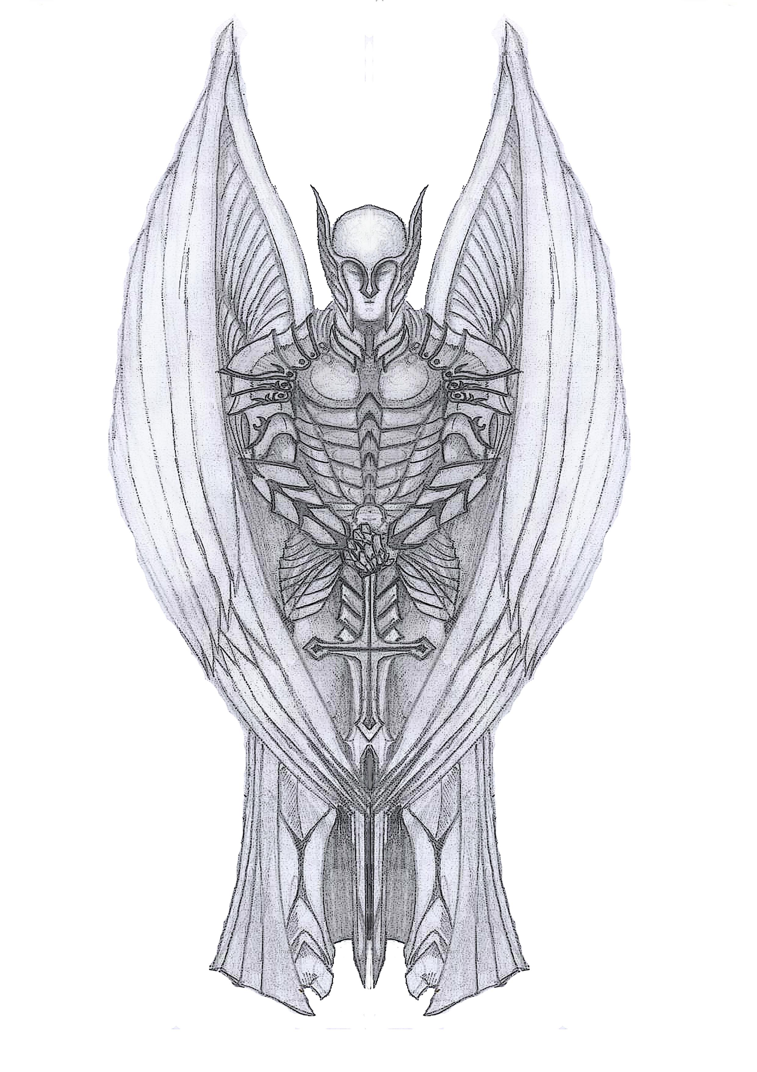 Venom Vs Wolverine Tattoo Archangel Michael Tattoo By Dpwright Dfj