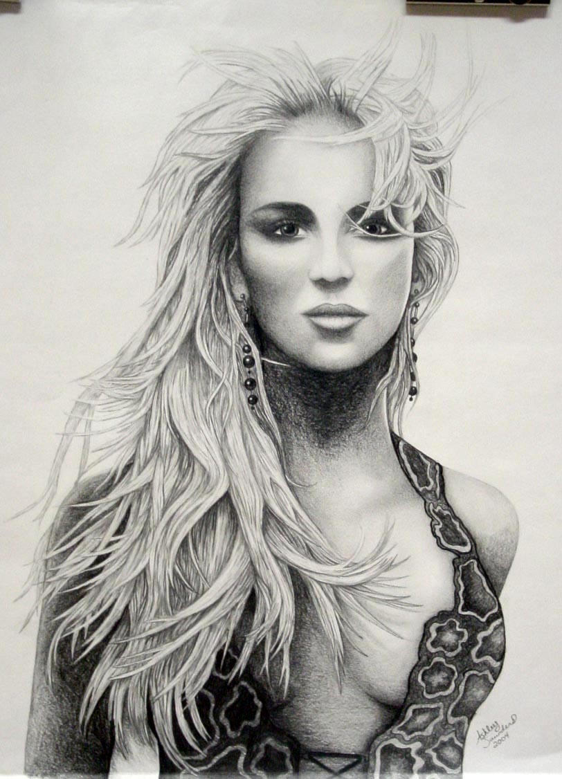 Pictures of pencil drawings
