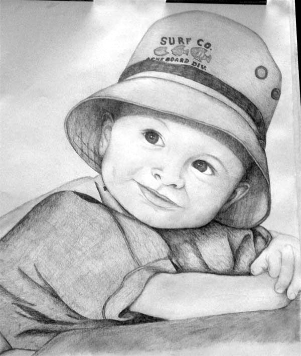 Little Boy Pencil Drawing By Asaunders On Deviantart